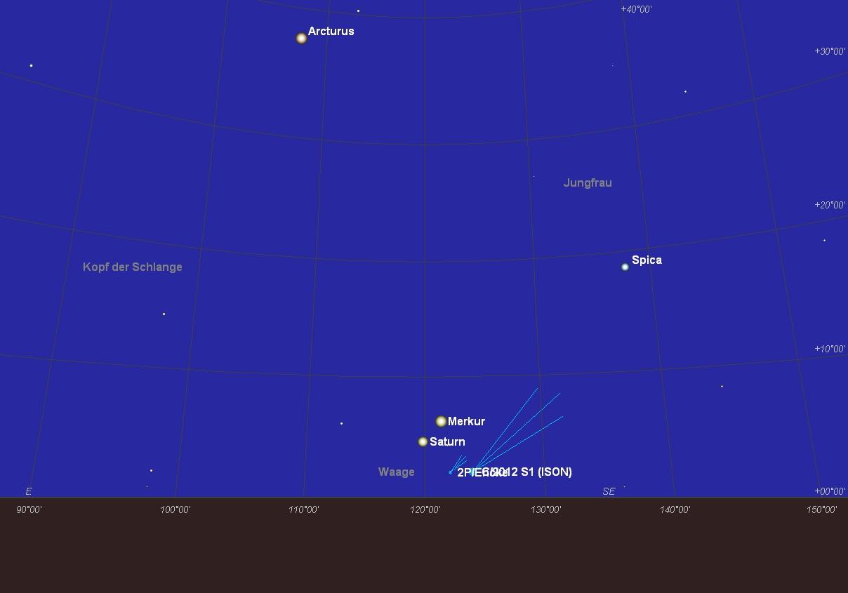 Komet ISON am 24.11.2013